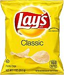 40-Pack Lay's Classic Potato Chips (1 oz) $6.62