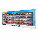 Hot Wheels 20 Cars Gift Pack $13