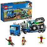 LEGO City Great Vehicles Harvester Transport Building Kit $19 and more