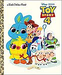 Toy Story 4 Little Golden Book (Hardcover) $3