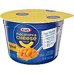 10-Pack Kraft Easy Mac & Cheese Microwavable Cups $5.37
