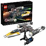 LEGO Sets: LEGO Star Wars Y-Wing Starfighter $150, Star Wars Betrayal at Cloud City $290 & More