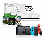 Nintendo Switch + Xbox One S 1TB Digital Console $399, Xbox One S 1TB NBA 2K19 or PUBG $179 and more