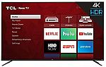 TCL 75S425 75 Inch 4K UHD Smart Roku TV (2019) $399