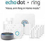 Ring Alarm 14 Piece Kit + Echo Dot (3rd Gen) $199, All-new Blink XT2 2-Camera Kit $99