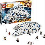 Prime Deal: LEGO Star Wars Solo: A Star Wars Story Kessel Run Millennium Falcon 75212 Building Kit $83.30