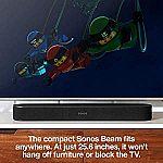 Sonos Beam Smart TV Sound Bar + $100 of Amazon.com Gift Cards $359