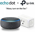 (Prime Deal) Amazon Alexa Bundle + TP-Link Device Bundles (Multiple Selection from $35