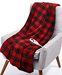 Biddeford Velour Sherpa Electric Heated Throw $8.98 (Org $140) + Free Shipping