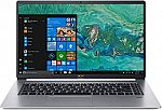 Acer Swift 5 Laptop 15.6 FHD IPS Touch Laptop (i5-8265U, 8GB, 256GB SSD SF515-51T-507P) $772