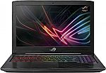 "ASUS ROG Strix Scar Edition 17.3"" FHD Gaming Laptop (i7-8750H, 16GB, 256GB SSD+1TB, GTX1050Ti) $899"
