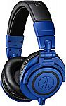 Prime Deal: Audio-Technica ATH-M50xBB Limited Edition Professional Studio Monitor Headphones $99
