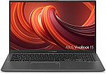 "ASUS VivoBook 15.6"" FHD Laptop (Ryzen 3-3200U 4GB 128GB SSD Win10s) $299"