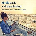Kindle Oasis E-reader (Previous Generation) + $5 eBook Credit $175
