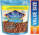 25oz Blue Diamond Almonds, Lightly Salted $5.14