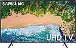 """Samsung UN50NU7100 50"""" 4K UHD 7 Series Smart TV $300"""