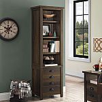 "Better Homes and Gardens Granary Modern Farmhouse 72"" Tower Bookcase $60"