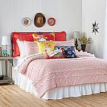 The Pioneer Women Ticking Stripe Comforter Queen $15, King $20