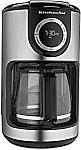 KitchenAid 12-Cup Glass Carafe Coffee Maker $39.81