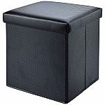 Mainstays Collapsible Storage Ottoman $8