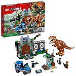 LEGO Juniors/4+ Jurassic World T. rex Breakout 10758 Building Kit $30 (org $50)