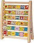 Hape Alphabet Abacus $10