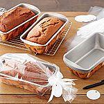 10-Piece Wilton Bake and Bring Autumn Print Loaf Pans Gifting Kit $5.40