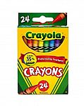 24-ct Pack Crayola Crayons, Elmer's Washable Glue $0.33, 4-ct Clorox Disinfecting Wipes $4.99 & More