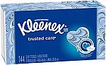 144-Count Kleenex Trusted Care 2-Ply Facial Tissues $1