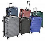 AmazonBasics Premium Hardside Spinner Luggage from $37