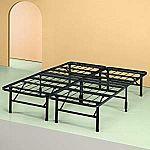 Zinus Shawn 14 Inch SmartBase Mattress Foundation / Platform Bed Frame $50