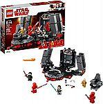 LEGO Star Wars Snoke's Throne Room 75216 (492 Pieces) $37.69 (46% Off)