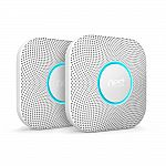 Google Nest Protect 2nd Gen Smoke & Carbon Monoxide Detector (2X for $190) or (4X for $340)