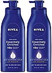 (Back) 2-Pk NIVEA Essentially Enriched Body Lotion (16.9 oz) $5.57