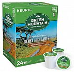 96-Count Green Mountain Coffee Kenyan Aa Extra Bold K-Cups $22