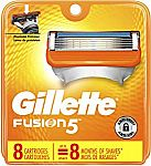8-Ct Gillette Fusion5 Men's Razor Blades Refills $11 or Less