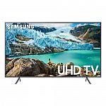 "SAMSUNG 50"" Class 4K Ultra HD (2160P) HDR Smart LED TV $299"