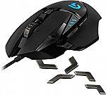 Logitech G502 Proteus Spectrum RGB Tunable Gaming Mouse $35