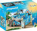 PLAYMOBIL Aquarium Building Set $25 (Reg. $60)