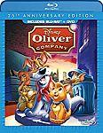 Disney Oliver & Company 25th Anniversary Edition (Blu-ray + DVD) $5