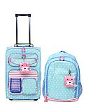 Crckt Kids 2-Pc. Printed Carry-On Suitcase & Backpack Set $51 (Org $160) + Free Shipping