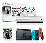 Nintendo Switch + Xbox One S 1TB Digital Console $399, Sony PlayStation 4 Slim 1TB $234