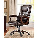 Better Homes and Gardens Bonded Leather Executive Office Chair $51.69