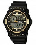 Casio Men's 'Super Illuminator' Quartz Resin Casual Watch $9