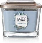 Yankee Candle Medium 3-Wick Square Candle  - Coastal Cypress $8