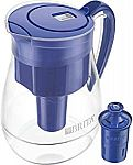 Brita Large 10 Cup Water Filter Pitcher w/ 1 Longlast Filter $28