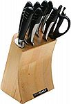 Top Chef 9-Piece Full Knife Set in Stainless Steel $49