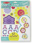 Melissa & Doug Simply Crafty Personalized Letter Flowers - 37 Flowers $2.98