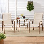 Mainstays Mirabell 3-Piece Patio Sling Mesh Bistro Set $56.31
