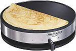 Proctor Silex 38400 Electric Crepe Maker $14 (Org $35)